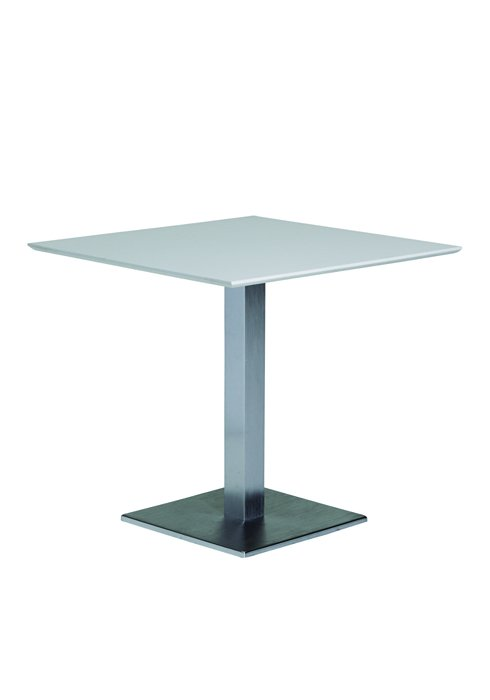 "35"" Square KD Pedestal Dining Table"