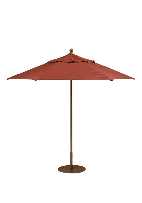 hexagon pulley lift umbrella for outdoor
