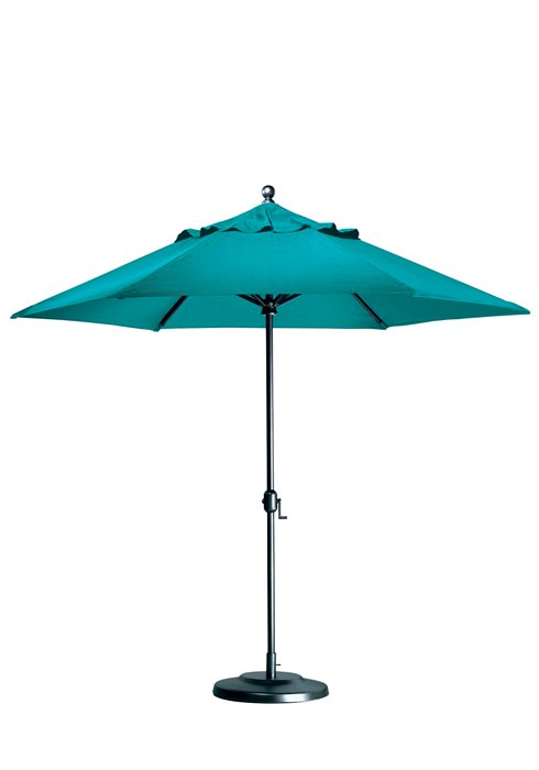 outdoor crank lift umbrella
