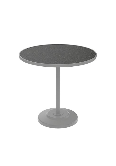 round patio pedestal bar table