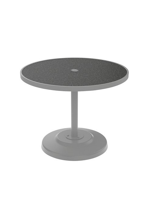 rounded dining patio table