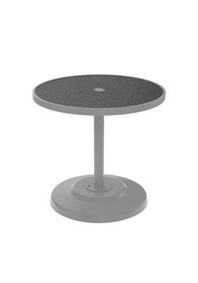 patio round pedestal dining umbrella table
