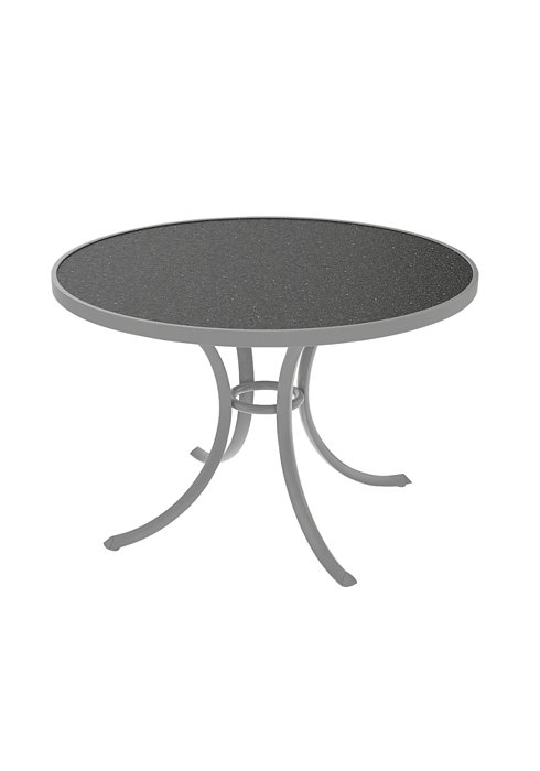 round patio table for dining