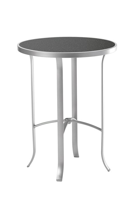 outdoor round bar table