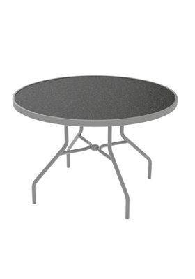 outdoor dining round table