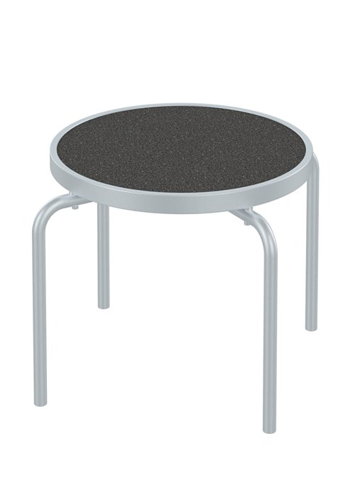 patio round stacking tea table