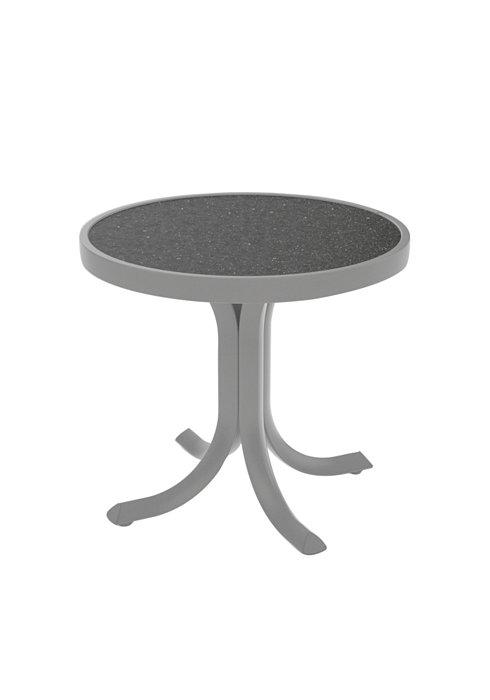 patio tea table round