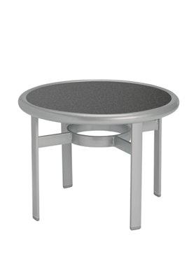 round outdoor tea table