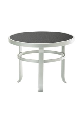 outdoor tea table round