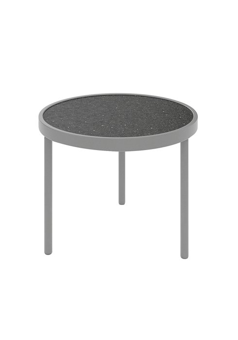 outdoor rounded tea table