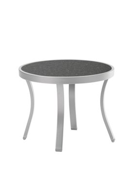 patio rounded tea table