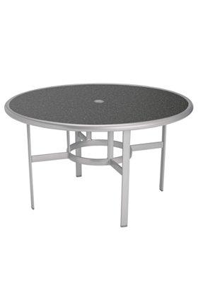 patio round umbrella dining table