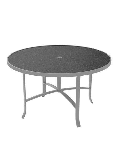 outdoor round umbrella dining table