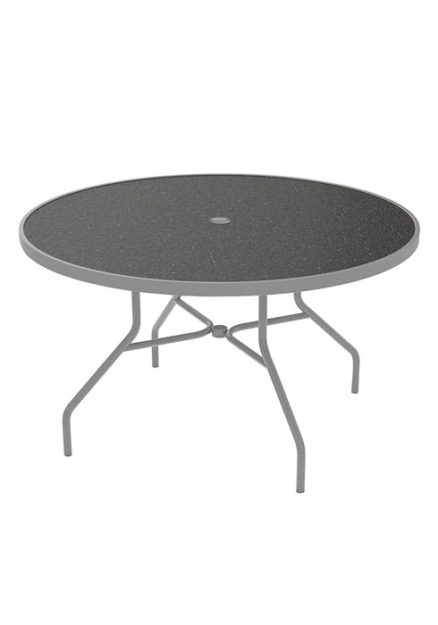 patio dining umbrella table round