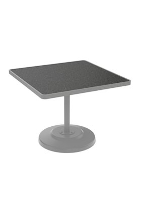 patio square pedestal dining umbrella table