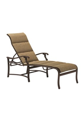 chaise lounge padded sling patio