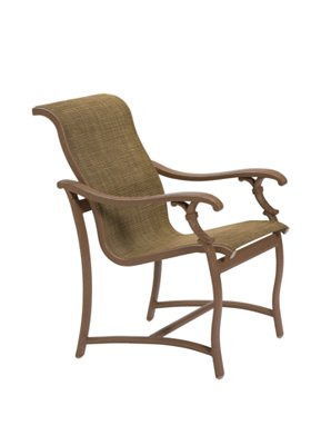 outdoor dining chair sling