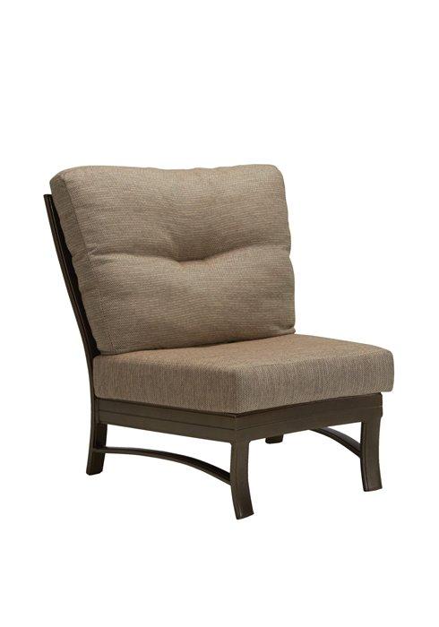 patio cushion armless crescent module