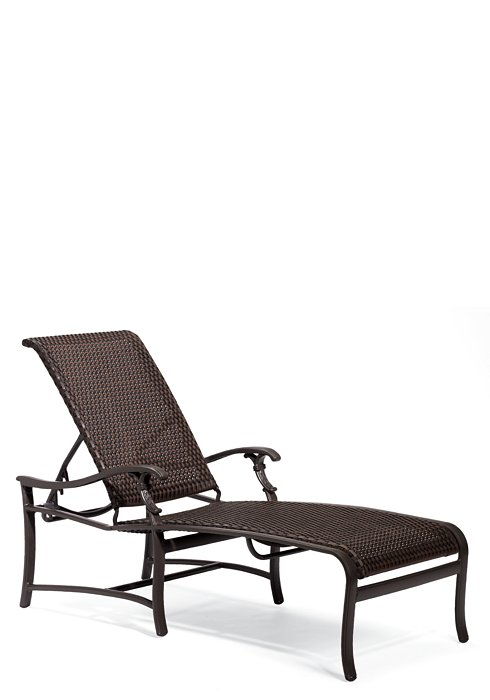 woven chaise lounge patio