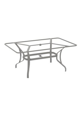 rectangular dining table base outdoor