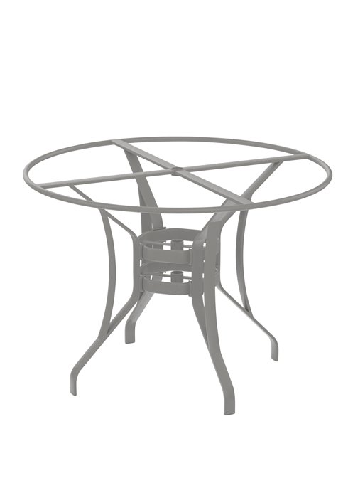 aluminum patterned patio counter table base
