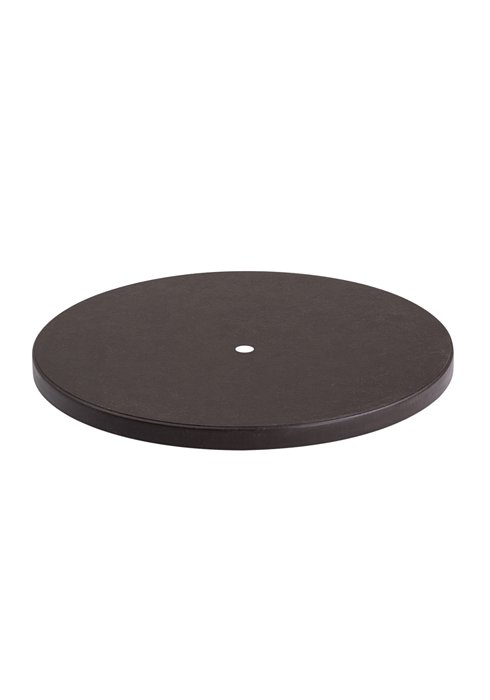 table top patio round with umbrella hole
