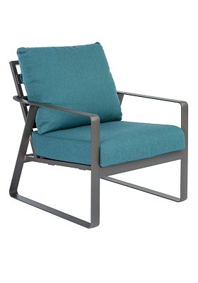 Fantastic Samba Cushion Lounge Chair Outdoor Patio Furniture Tropitone Customarchery Wood Chair Design Ideas Customarcherynet