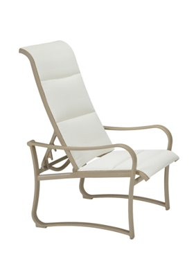 padded sling outdoor sling recliner