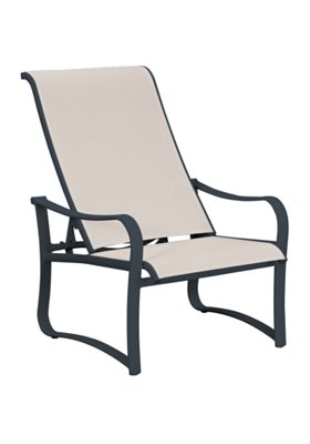 outdoor sling recliner