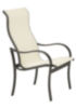 Sling High Back Modern Outdoor Dining Chair