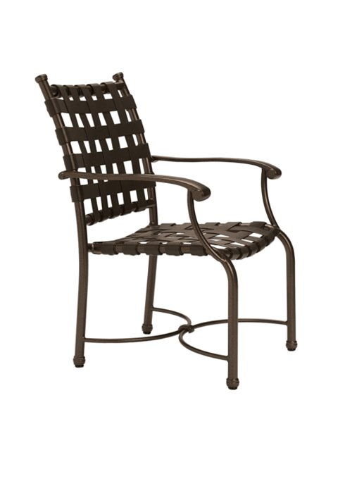 outdoor strap dining chair