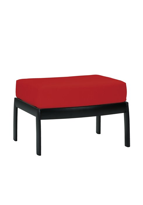 curved patio ottoman