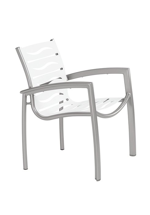 patio wave segment dining chair