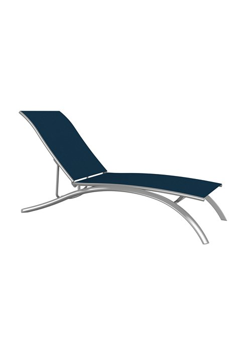 elite relaxed sling patio chaise lounge