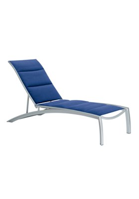 chaise lounge padded sling outdoor