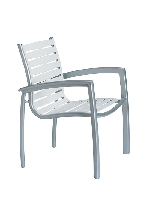 ribbon segment dining chair for outdoor
