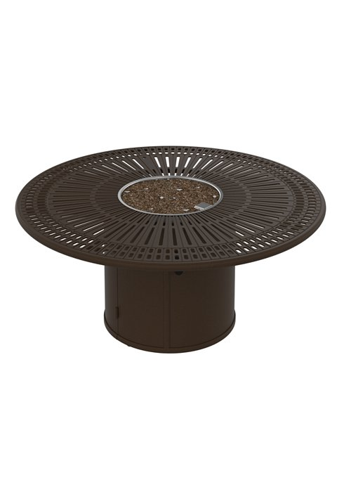 outdoor manual ignition fire pit