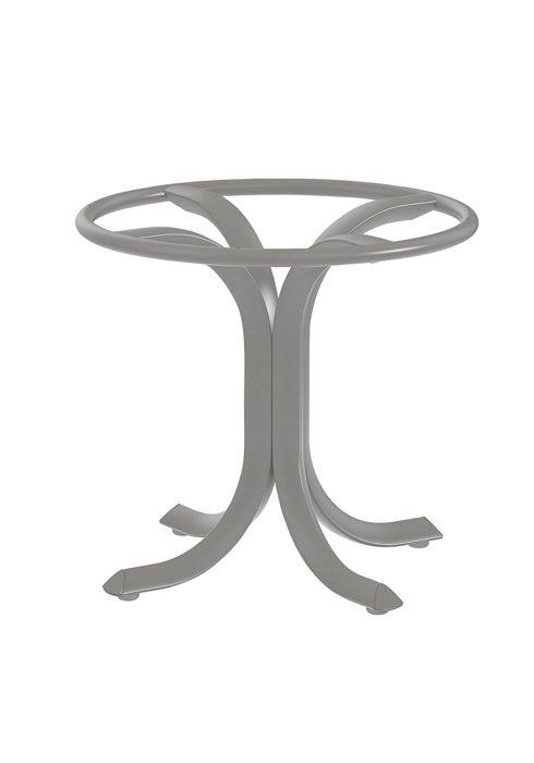 patio aluminum tea table base