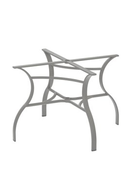 patterned outdoor dining table base