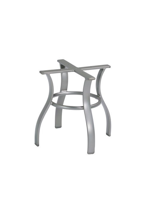 patio tea table base aluminum