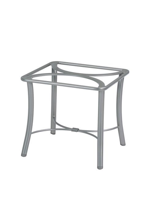 outdoor modern end table base