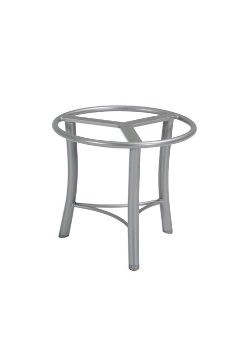modern aluminum patio tea table base