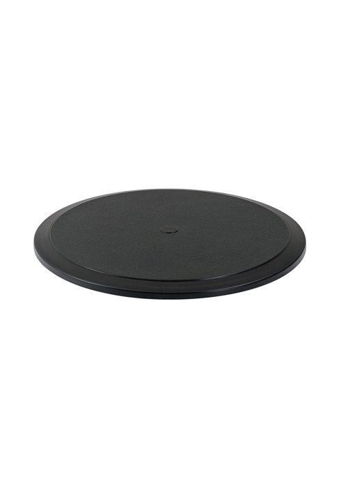 round outdoor table top with umbrella hole