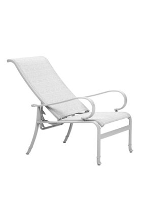 sling outdoor recliner