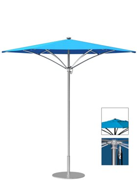 aluminum trace umbrella for outdoor