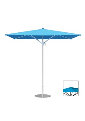 patio square trace umbrella