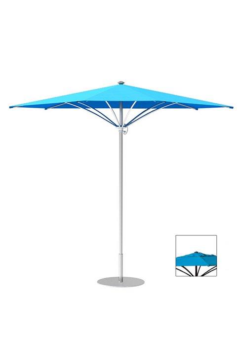 patio triangle manual lift umbrella