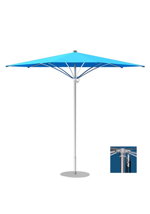 outdoor triangle pulley lift trace umbrella