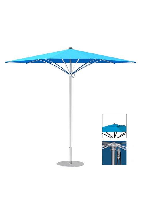 modern outdoor triangle umbrella