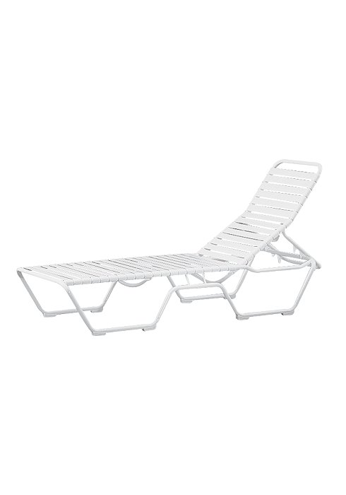 strap outdoor chaise lounge